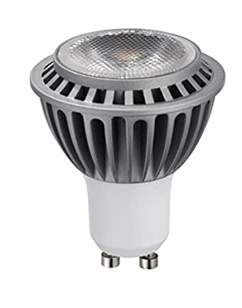 hitlights 7 watt ul listed mr16 gu10 warm white led bulb 20 year lifespan. Black Bedroom Furniture Sets. Home Design Ideas