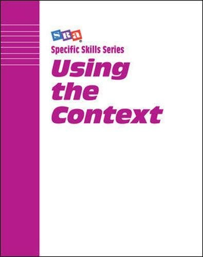 SRA Specific Skill Series: Using the Context, Book A