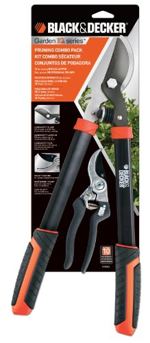 Black & Decker BD1822 21-Inch Lopper and 8-Inch Professional Pruner Combo Pack