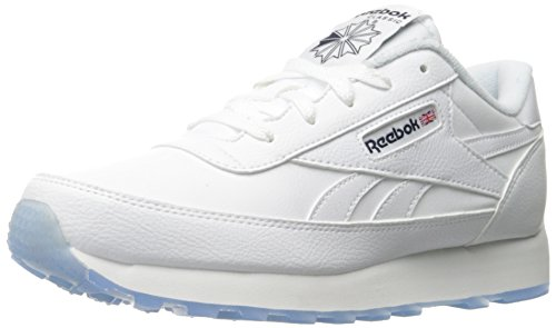 Reebok Hommes Classique Renaissance Glace Fashion Sneaker Blanc / Coll. Glace Marine