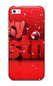 Premium Durable Merry Christmas Fashion Tpu Iphone 5c Protective Case Cover