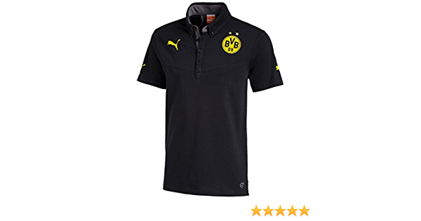 PUMA BVB Polo - Camiseta/Camisa Deportivas para Hombre ...