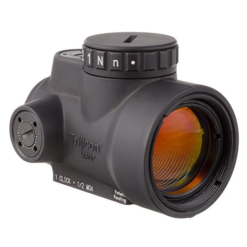 Trijicon MRO-C-2200003 1x25mm Miniature Rifle Optic (MRO) Riflescope with 2.0 MOA Adjustable Red Dot Reticle (Without Mount) from Trijicon