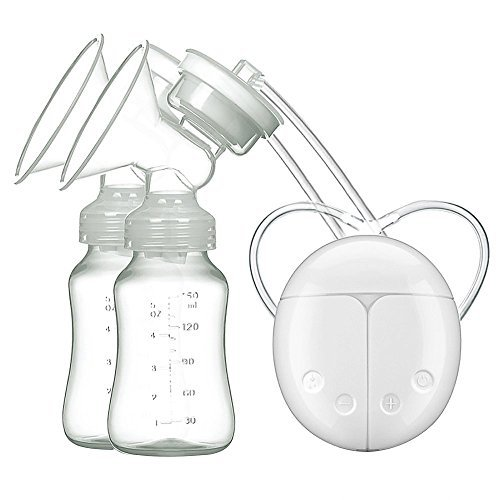 Buy Cheap Portable Breast Pump Electric Double Breastpumps Safe Milk Storage Bottle Dual Control Mil...