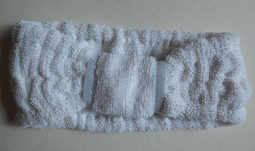 Pacific Headband (3 pcs/set Touch Me (tm) Spa Cosmetic Microfiber Headband White (Set of)