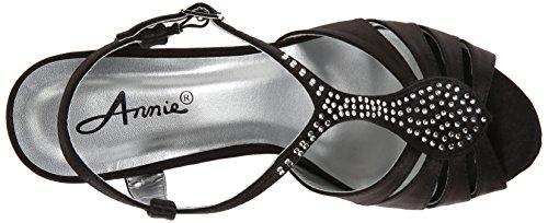 Annie Chaussures Sandales De Luxe Pour Femmes Noir