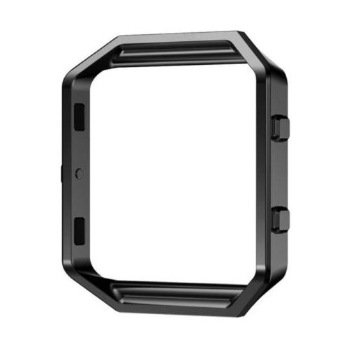 Fitbit Blaze Smart Watch Frame - TOOGOO(R)Stainless Steel Metal Watch Frame Holder Shell For Fitbit Blaze Smart Watch, Black