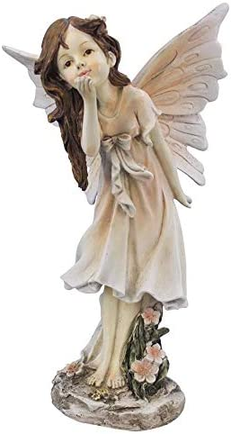 Design Toscano LY79215 Blossom The Wildflower Meadows Fairy Garden Statue
