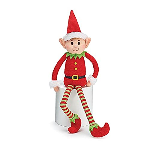 burton burton plush little elf soft stuffed santa helper christmas gift - Elf Christmas Decorations