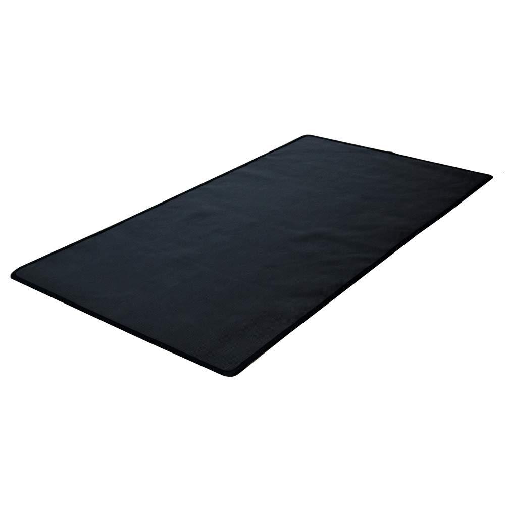 50 x 100 cm Alfombra ign/ífuga protectora de suelo para chimenea