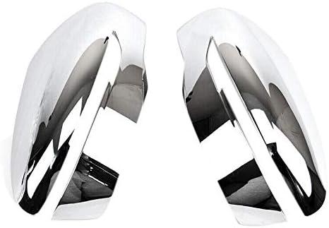 Tapa de Cubierta de Espejo Lateral para Qashqai X-Trail Murano Rogue Pathfinder 2014-2020 Nrpfell Cubierta de Espejo Retrovisor Cromado