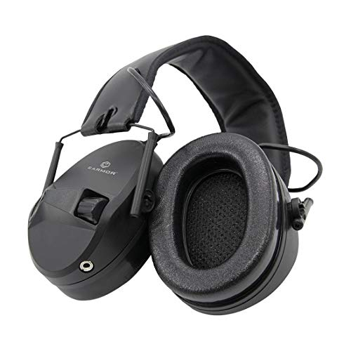 OPSMEN Electronic Shooting Noise Safety Earmuff Sound Amplification Protection