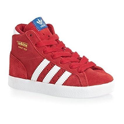 detailed look 19e3e 88fa7 adidas Originals Infantil Basket Profi I Zapatillas Hi Top - Rojo - D67682  - 19 EU