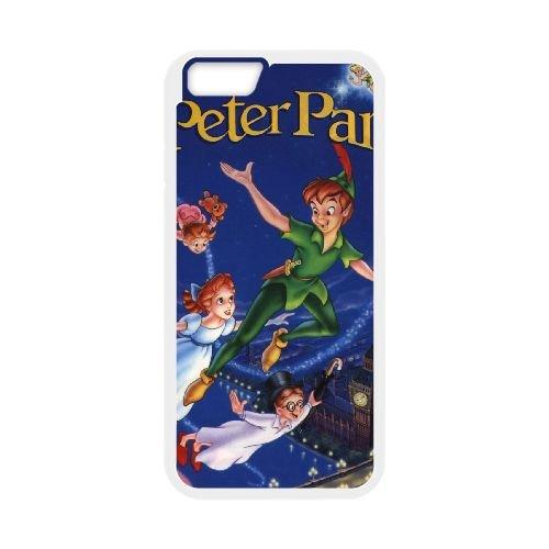 Peter Pan 016 coque iPhone 6 Plus 5.5 Inch Housse Blanc téléphone portable couverture de cas coque EEEXLKNBC19126