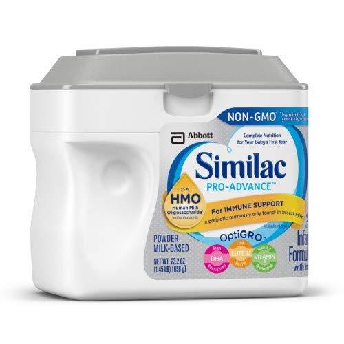 Similac Pro-Advance (Hmo) Non-GMO Infant Formula Powder (Pack of 6)