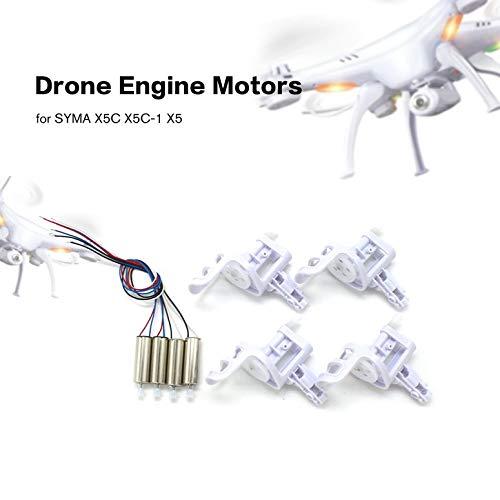 ArgoBa 2 Pares de Motores de Motor de dron con Cubierta de Base de ...