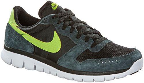 Nike Flex BRS Men Laufschuhe black-volt-seaweed-white - 44