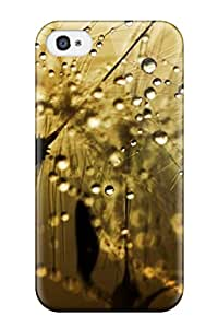 Waterdrop Snap-on Rain Summer Case For Iphone 4/4s