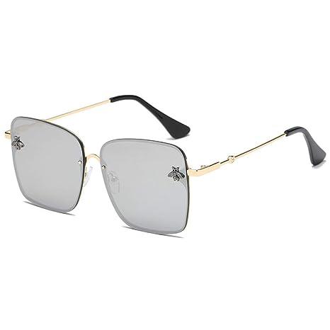 Yangjing-hl Gafas de Sol Marca Gafas de Sol Caja Grande ...