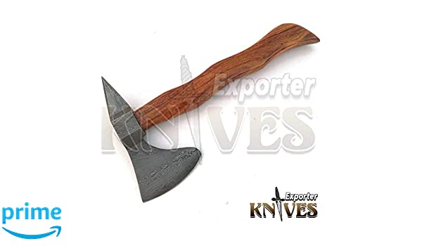 Knives Exporter New Custom Hand Made Carbon Steel Bearded Hatchet Axe Head