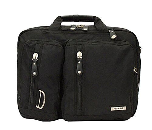 Bronze Times (TM) 17.3 Inch Business Travel Gear Laptop Shoulder Bag Backpack (Black) by Bronze Times (Image #1)