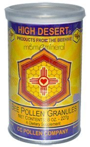 - C C Pollen Bee Pollen Raw Granules -- 8 oz