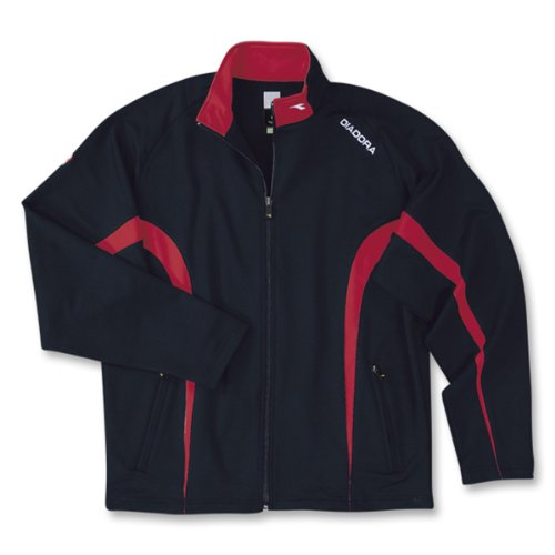 Diadora Boy's Ermano Full Zip Pockets Jacket NAVY YM