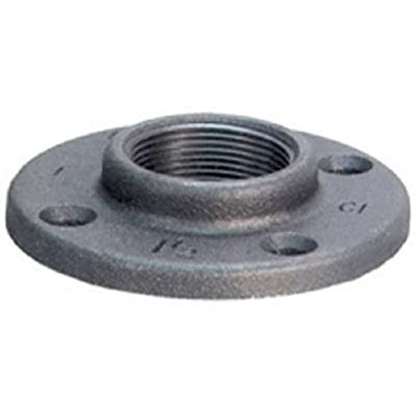 Floor Flange Black Finish Anvil 8700164109 Malleable Iron Pipe Fitting 2 NPT Female