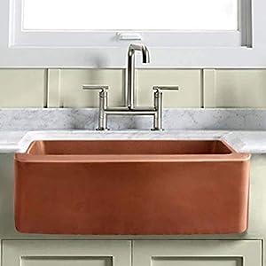 41zRvdFd4JL._SS300_ Copper Farmhouse Sinks & Copper Apron Sinks