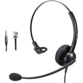 Cisco Headset RJ9 Phone Headset for Cisco IP Phone with Noise Cancelling Microphone Including 3.5mm Connector /…