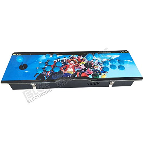 2018 New Pandora's Box 6 Video Game 1388 in 1 Double Stick Player Retro Arcade Game Console Compatible with HDMI/VGA/USB Out Put for PC PS3 ()