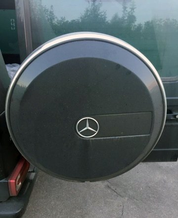 kit-car Spare Tire Cover Mercedes-Benz G-class W463 G500 G55 G63 G65