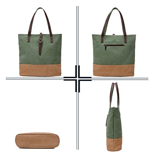 Gray Colorblock Sdinaz Bag Woman Canvas Women For Shoulder Long Blue Strap Bags Large Bags fO00TR1q