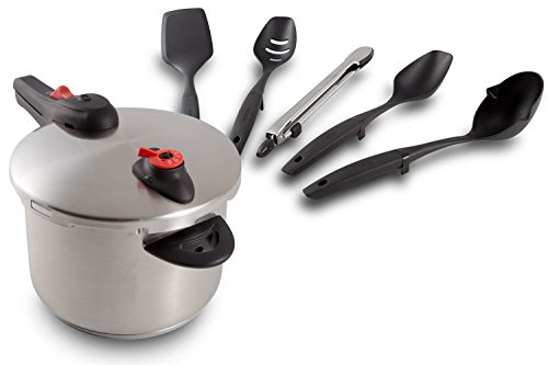 Limited Time Holiday Offer Buy The NuWave Pressure Cooker Today And Get The 5 Piece Utensil Absolutely Free