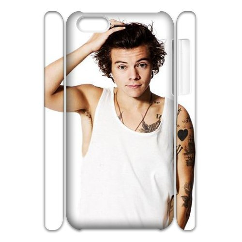 Harry Styles Customized 3D Cover Case for Iphone 5C,custom phone case ygtg-325176