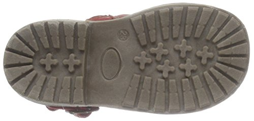 Supremo Kinderschuhe - Zapatos primeros pasos de material sintético para niña rojo - rojo