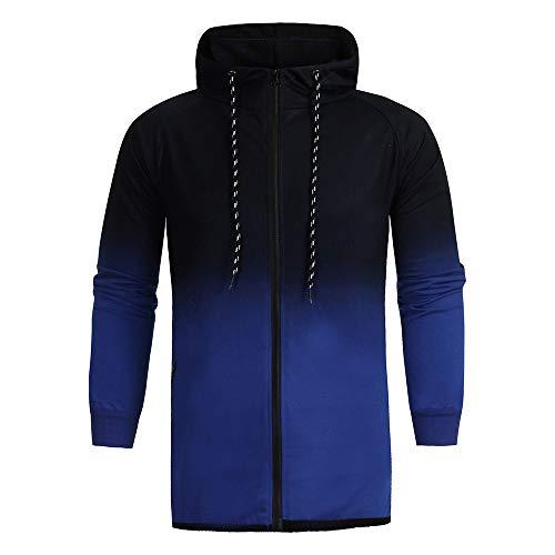 Ensembles À Sports Homme Survêtement Costume Pantalons Top D'automne T Glissière bleu Pour Malloom shirt Sweat 1x5wpqz8p