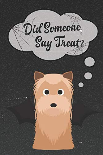 Yorkshire Terrier Lined Notebook: A Halloween Themed Notebook For Yorkie Lovers (Dog Halloween Notebooks and Journals)