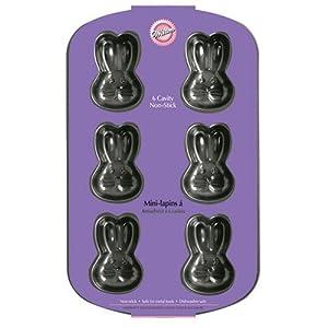 Amazon Com Wilton Non Stick Bunny Pan Rabbit Cake Pans