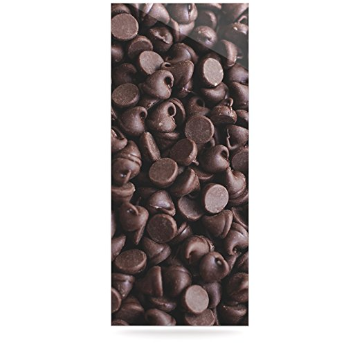Kess InHouse Libertad Leal Yay Chocolate Candy Luxe Rectangle Panel 24 x 36