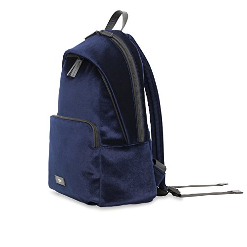 KNOMO Bathurst Velvet Backpack - Navy by Knomo