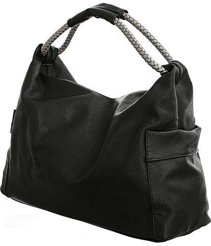 Vitalio Vera Keanu Black Extra-Large Hobo Oversized Purse  86060f1951a0e