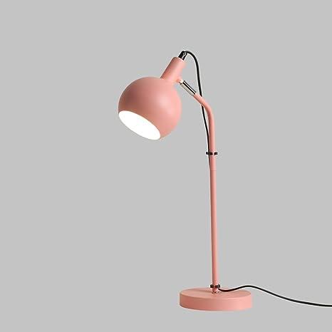 Shubiao Nordic Simple Personalidad Ajustable lámpara de Mesa ...