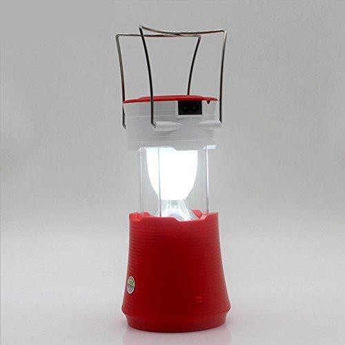YMXJB Rechargeable Camping Lumière, Survie extérieure d'urgence batterie lanterne, pêche randonnée portable lampe LED camping peut être rétrécir