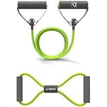 Resistance Bands Resistance Tubes with Foam Handles, Exercise Cords For Exercise Fitness Pilates Strength Training
