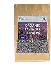EDEDA Dried Lavender Flowers Fragrant Organic Lavender Buds,1/2 Pound Lavandula Angustifolia Pure 100% Naturally Grown Dried Lavender