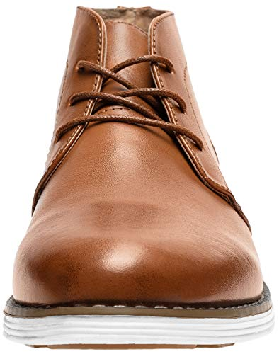 Pictures of JOUSEN Men's Chukka Boots Casual Leather 7