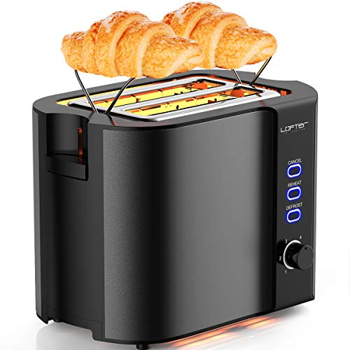 Stainless Toasters Settings Function Removable
