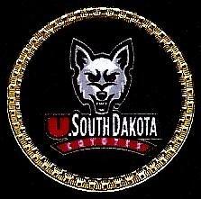 Dakota South Ball Golf (Gatormade Collegiate Golf Ball Marker South Dakota)