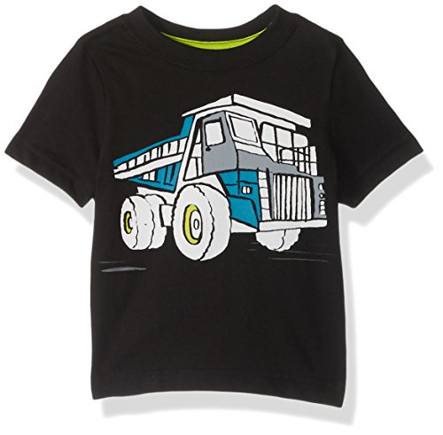 Gymboree Toddler Boys' Favorite Little Screen Tee, Truck/Black, 18-24 Months